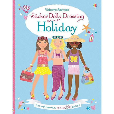 Usborne Sticker Dolly Dressing: On Holiday
