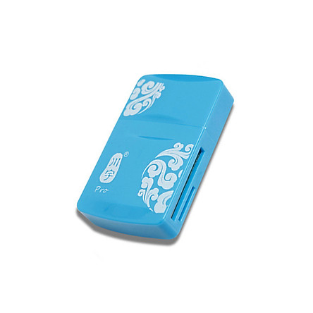 Memory Card Reader Adapter Practical USB2.0 ABS Computer Laptop Tablet
