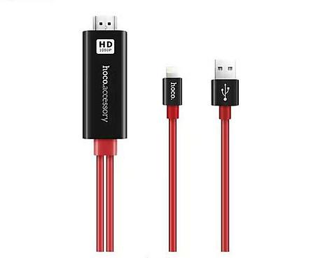 Cáp HDMI Kết Nối Iphone, Ipadd Với Tivi HOCO UA4 Chính Hãng