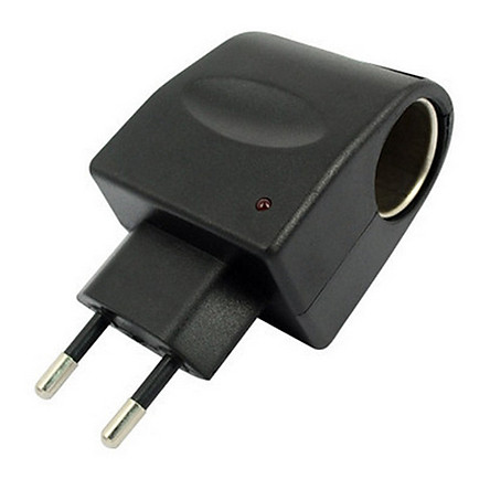 Bộ Chuyển Đổi Nguồn Điện 220V Sang 12V Cắm Tẩu ôTô , chuyển từ cốc xe hơi sang nguồn 220v