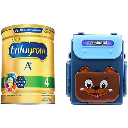 Sữa Bột Enfagrow A+ 4 (1.7kg) - Tặng Đồ Chơi Bác Sĩ Dạng Balo