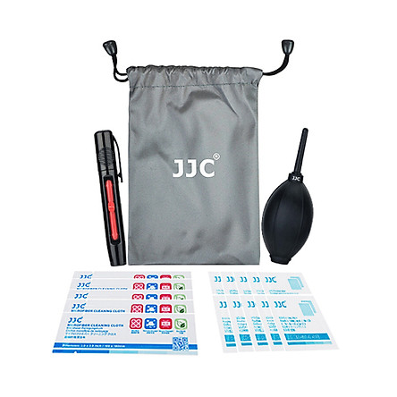 JJC camera cleaning kit Canon Nikon Sony SLR micro single body cleaning tool lens cloth display screen cleaning wipes strong air blowing ball lens pen cleaning accessories