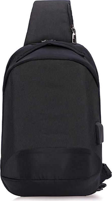 Balo 1 quai đeo chéo nam màu sắc basic , khóa giấu chống trộm mới bảo vệ đồ dùng