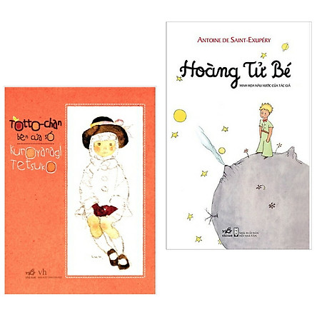 Combo Truyện Thiếu Nhi Được Yêu Thích Nhất : Hoàng Tử Bé + TotoChan Cô bé bên cửa sổ ( Tặng Kèm Poster An Toàn Cho Con Yêu)