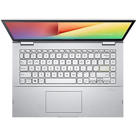 Laptop Asus VivoBook Flip 14 TP470EA-EC027T (Core i3-1115G4/ 4GB DDR4/ 512GB Pcle/ 14.1 FHD IPS  Touch/ Win10) - Hàng Chính Hãng