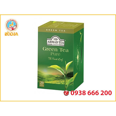 TRÀ AHMAD TRÀ XANH 40g (Green Tea)