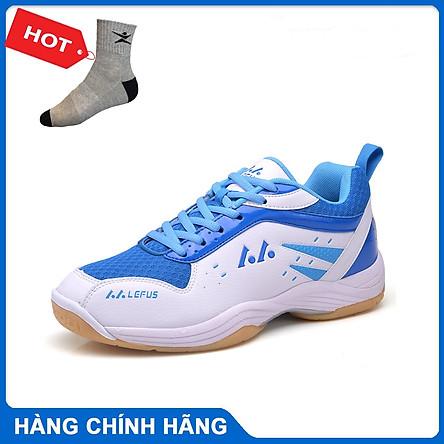 Giày cầu lông Lefus L05 chính hãng dành cho nam và nữ, mẫu mới có 3 màu lựa chọn  - Tặng tất thể thao Bendu