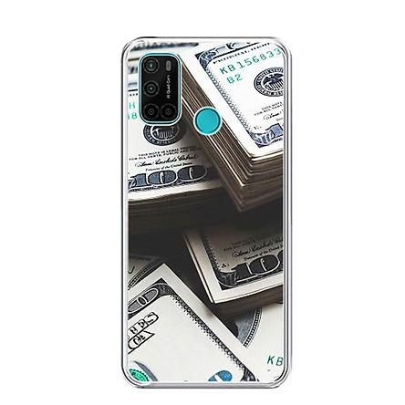 Ốp lưng dẻo cho điện thoại VSMART JOY 4 - 0493 Dollar01 - Hàng Chính Hãng
