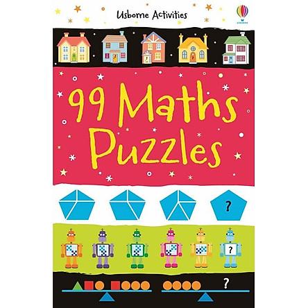 Sách tương tác tiếng Anh - Usborne 99 Maths Puzzles