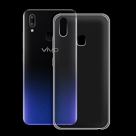 Ốp lưng cho Vivo Y91 - 01120 - Ốp dẻo trong - Hàng Chính Hãng