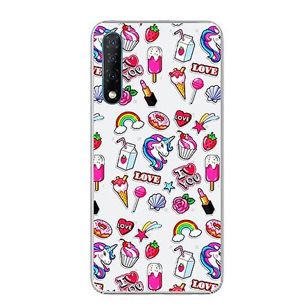 Ốp điện thoại Vsmart Live - Silicon dẻo - 0155 SWEET02 - Hàng Chính Hãng