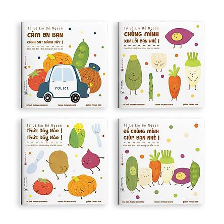 Sách ehon - Set 4 cuốn Tớ là em bé ngoan - dành cho trẻ từ 2 tuổi