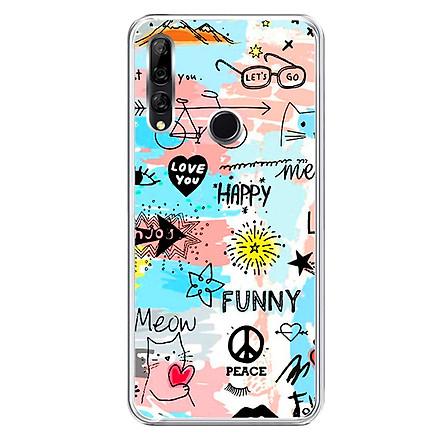 Ốp lưng dẻo cho điện thoại Huawei Y9 Prime 2019 - 0126 FUNNY - Hàng Chính Hãng
