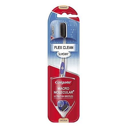 Bàn Chải Đánh Răng Colgate SlimSoft Flex Clean Charcoal