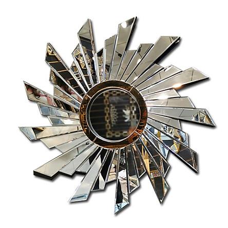 Gương phù điêu trang trí mẫu A 98*98