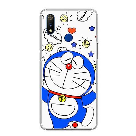Ốp điện thoại Realme 3 Pro - 0022 DOREMON05 - Silicon dẻo - Hàng Chính Hãng