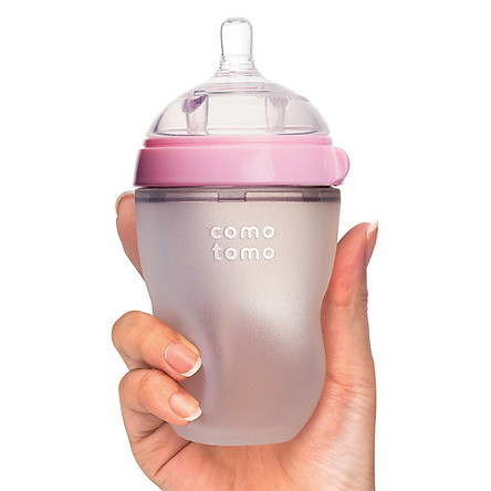 Bình Sữa Comotomo - Hồng (250ml)