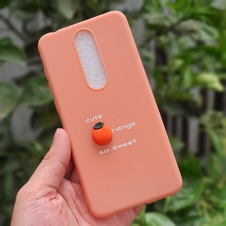Ốp lưng trái cây nổi Dành cho Nokia 5.1 Plus và Nokia X5
