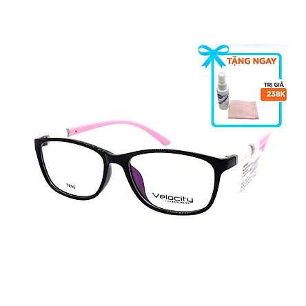 Gọng kính, mắt kính chính hãng Velocity VL36461 805 - Tặng 1 khăn và nước lau kính - khăn màu ngẫu nhiên