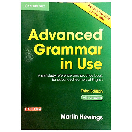 Advanced Grammar in Use Book with Answers  Edition: A Self-Study Reference and Practice Book for Advanced Learners of English