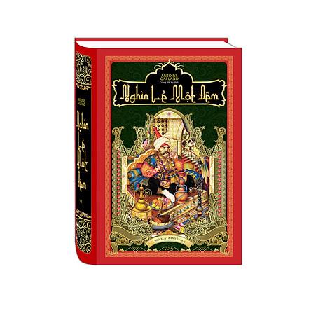 Tác Phẩm Kinh Điển Bậc Nhất Ả Rập: Nghìn Lẻ Một Đêm - Bìa Cứng (Top Sách Bán Chạy / Tặng Kèm Bookmark Green Life)