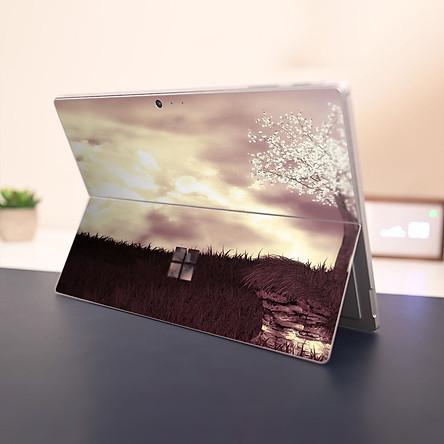 Skin dán hình Tranh thủy mặc x02 cho Surface Go, Pro 2, Pro 3, Pro 4, Pro 5, Pro 6, Pro 7, Pro X