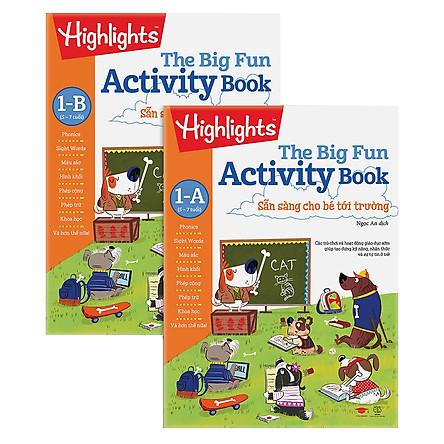 Combo Big Fun Activity Book - Sẵn Sàng Cho Bé Tới Trường 1 - A (5-7 Tuổi)
