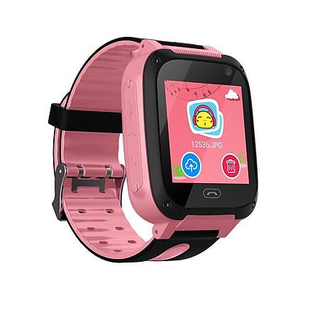 Đồng hồ thông minh định vị trẻ em lắp sim nghe gọi, nhắn tin thoại chống nước nhé