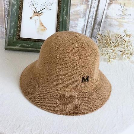 Nón Cói Nữ Chữ M Đi Biển Mũ Tai Bèo Vành Vintage