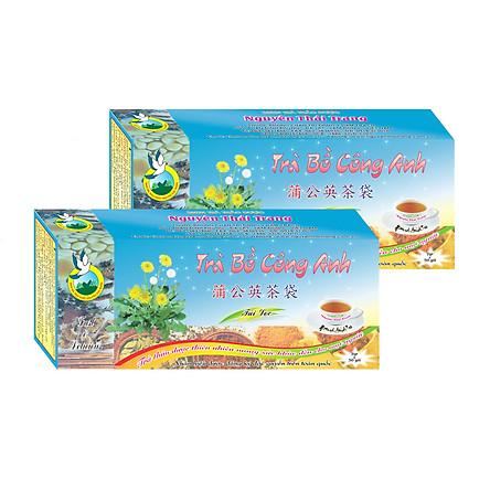 Combo 5 Hộp Trà Bồ Công Anh Giúp Tránh Tắc Tia Sữa Thanh Nhiệt (Hộp 50 Túi Lọc X 2g)- Nguyên Thái Trang – Thảo Dược Thiên Nhiên – Tốt Cho Sức Khỏe