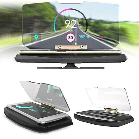HUD Multi-function Car Navigation Head-up Display Mobile Phone Special Bracket Car Decoration
