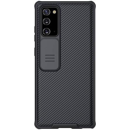 Ốp lưng cho Samsung Galaxy Note 20/ Note 20 Ultra bảo vệ camera Nillkin CamShield chính hãng
