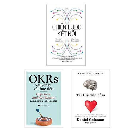 Combo OKRs Nguyên Lý Và Thực Tiễn + Trí Tuệ Xúc Cảm + Chiến Lược Kết Nối