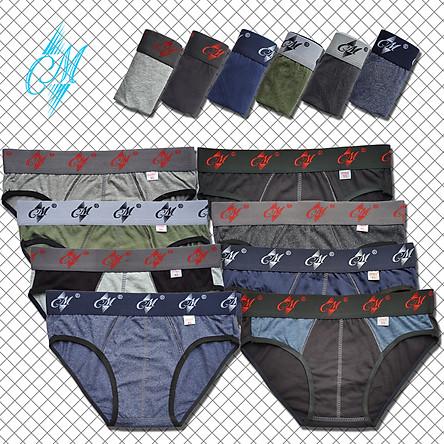Combo 10 quần lót nam CM, Thương hiệu CITYMEN, đồ lót nam hàng Việt Nam xuất khẩu