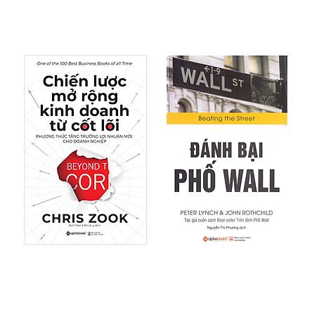 Combo Sách Kỹ Năng Kinh Doanh :  Chiến Lược Mở Rộng Kinh Doanh Từ Cốt Lõi + Đánh Bại Phố Wall