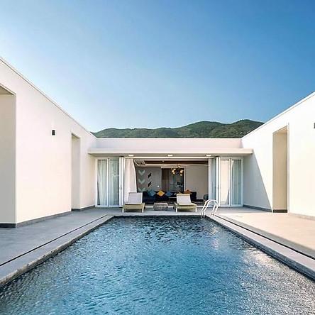 Biệt Thự Viva Villa Oceanami Long Hải 2N1Đ - Loại 04 Phòng Ngủ Hướng Biển Hồ Bơi Riêng Dành Cho 09 Người Lớn Và 04 Trẻ Em