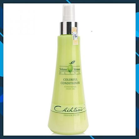 Xịt dưỡng tóc mềm mượt Chihtsai Olive Colorful Conditioner (xả khô) 250ml