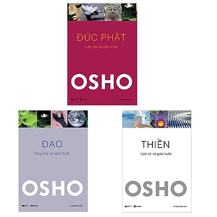 Bộ 3 cuốn tuyệt tác của Osho: Đức Phật - Đạo - Thiền | Tiki