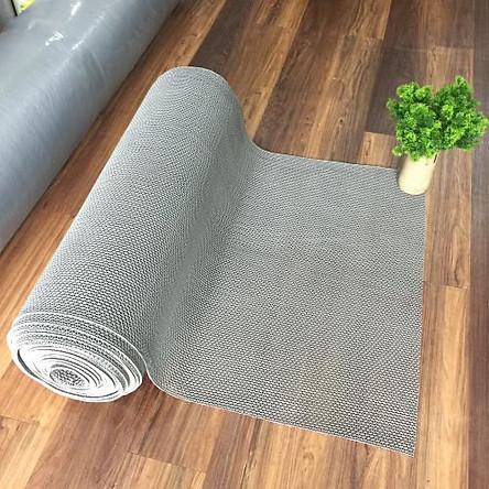 Thảm nhựa lưới chống trơn màu xám