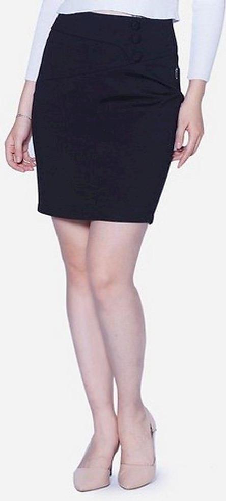 Chân Váy Nữ VDS1891CT - Đen
