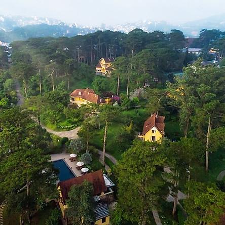 Ana Villas Dalat Resort & Spa 5* Đà Lạt - Bữa Sáng, Hồ Bơi Nước Ấm, Top Resort Hàng Đầu Thế Giới