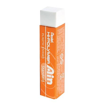Bộ 2 Gôm Pentel Hi-Polymer Thân Dài - Nhũ Cam