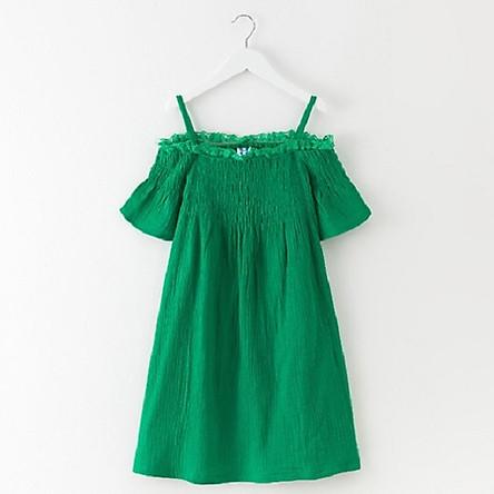 Đầm maxi xô cho bé