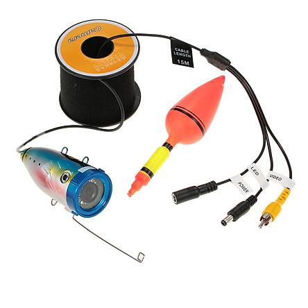 Máy Dò Tìm Phát Hiện Cá Dưới Nước Đèn LED - Kèm Cáp 1000TVL (15m/30m)