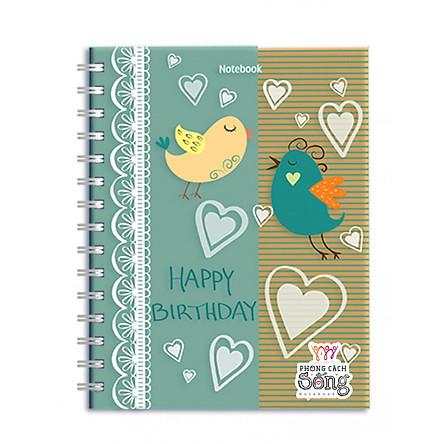 Sổ Lò Xo Notebook Minh Long - Happy Birthday