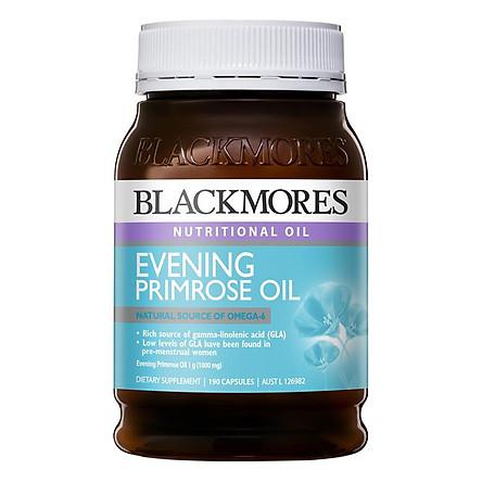 Thực phẩm chức năng Viên uống Tinh dầu Hoa Anh Thảo cân bằng Hormone nữ giới - Blackmores Evening Primrose Oil 190 Viên