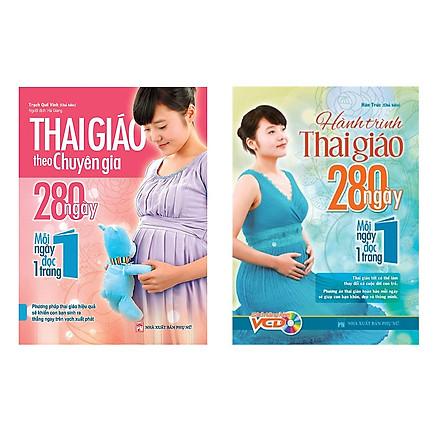 Combo Thai Giáo Theo Chuyên Gia Và Hành Trình Thai Giáo 280 Ngày TẶNG Sách 365 Ngày Phát Triển Trí Tuệ (1 Chủ Đề Ngẫu Nhiên)