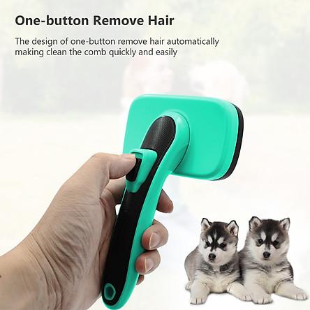 Lược chải gỡ rối làm sạch lông nhẹ nhàng cho chó vật nuôi