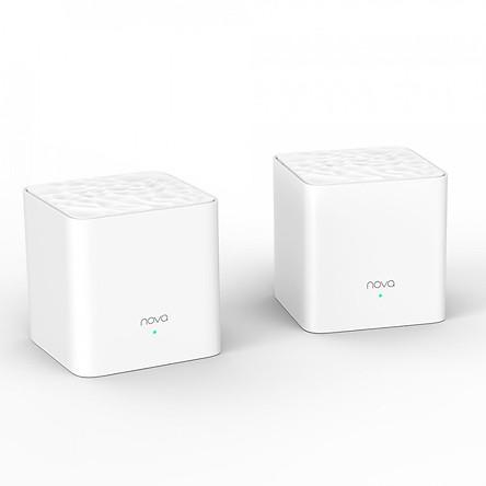 Hệ thống WiFi mạng lưới phủ sóng khắp nhà Tenda Nova MW3 ( phủ rộng tới 200 mét vuông) (gồm 2 bộ)