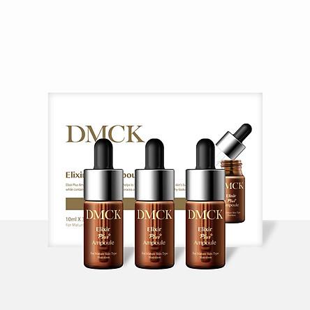 Tinh chất cô đặc Ngăn ngừa lão hóa, Cải thiện sắc tố da, Giảm tàn nhang, nám, Tái tạo làn da - DMCK Elixir Plus Ampoule (10ml*3pcs)